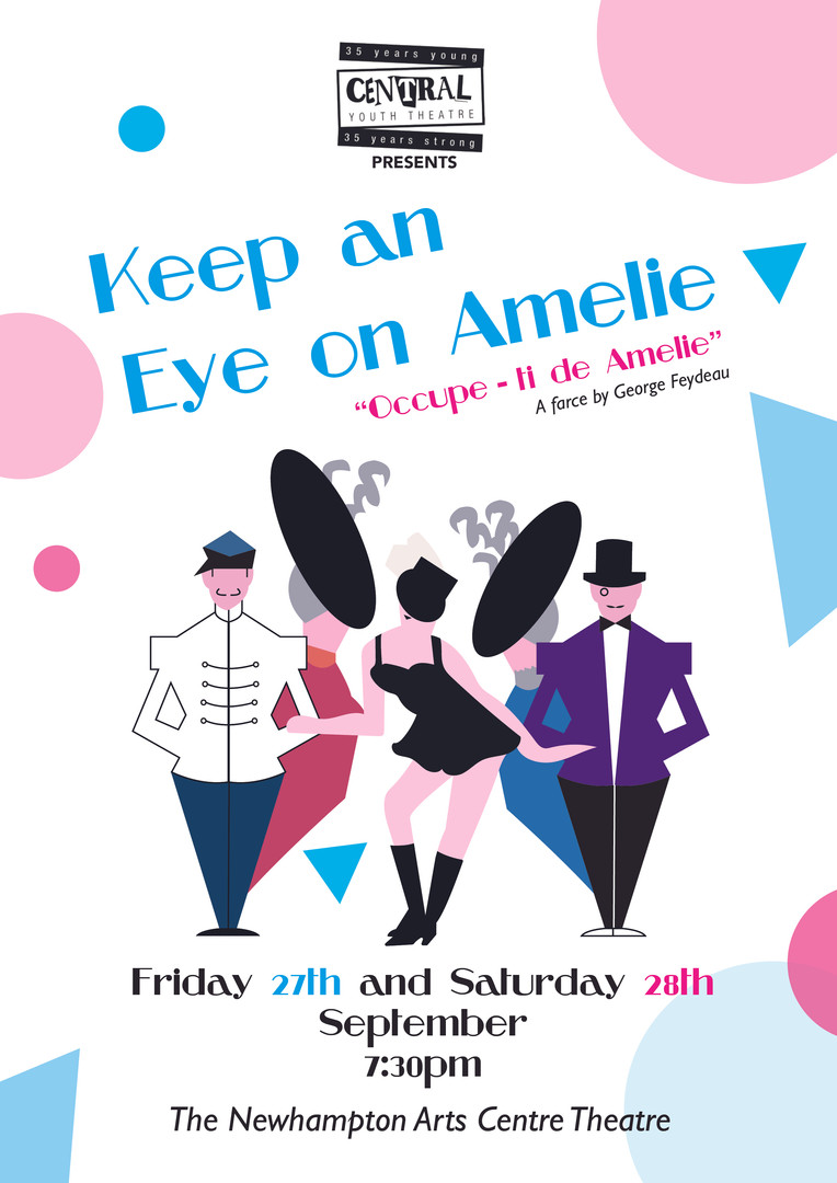 Keep an Eye on Amelie Programme Front Co