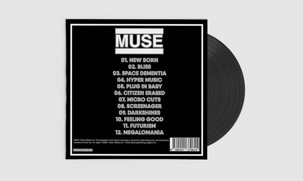 Muse Origin of Symmetry Album Cover Reve