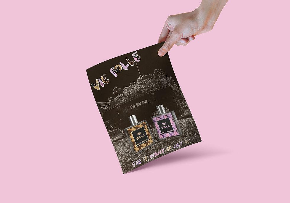 Becky Clee Vie Folle Camo Packaging Desi