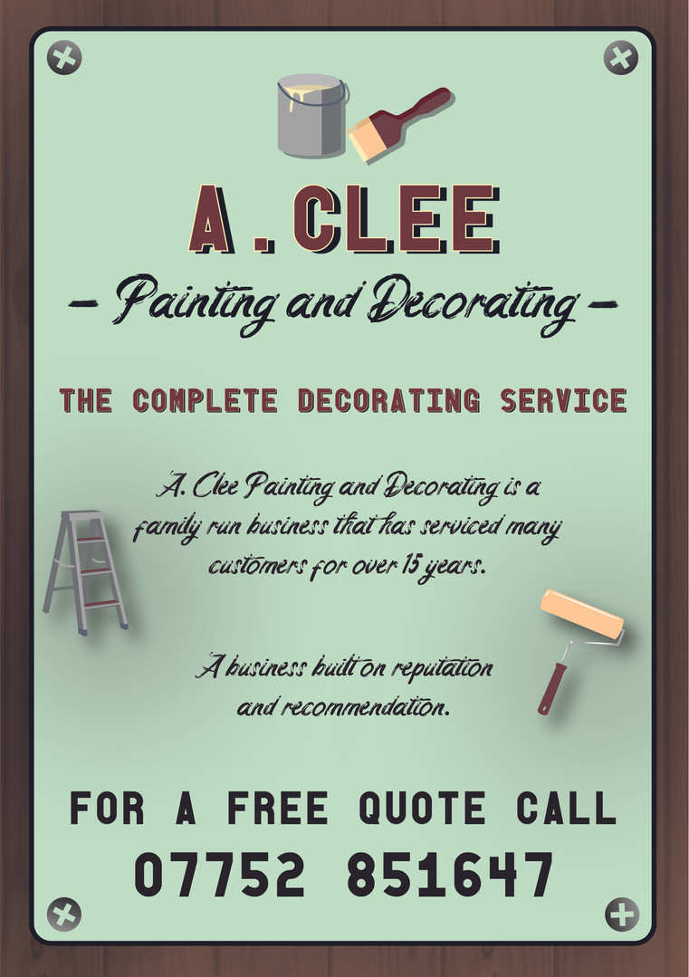 A.Clee Painting and Decorating Business