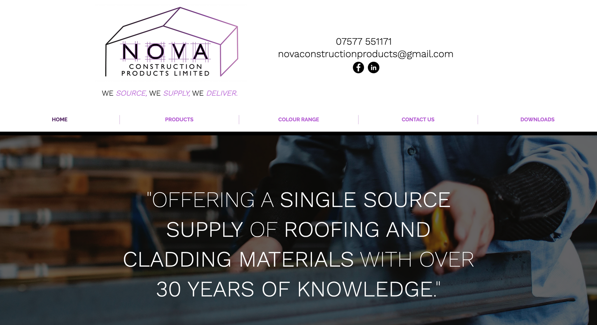 Nova Construction Products Limited Websi