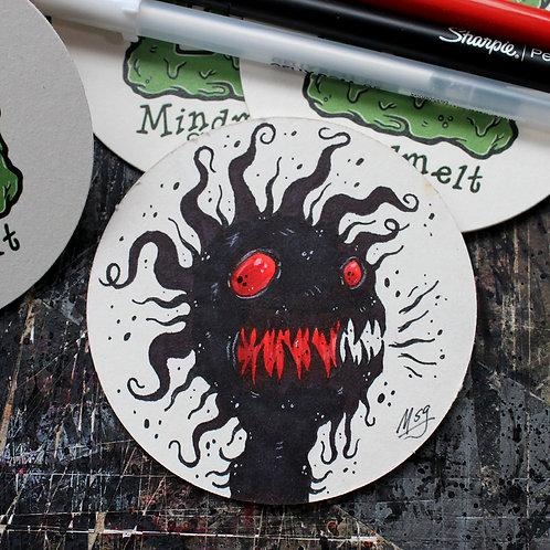 Ghostie Coaster Doodles