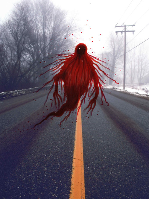 The Crimson Appartion of Waverley Road