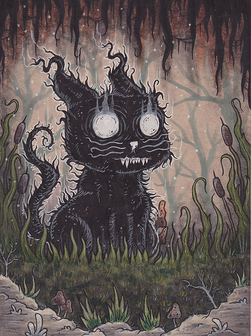 The Black Cat of Wychwood Forest
