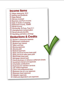 Tax Preparation To Do List/Checklist