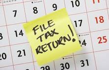 Tax Return Due April 17 2018