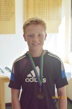 Boys' under 14 winner