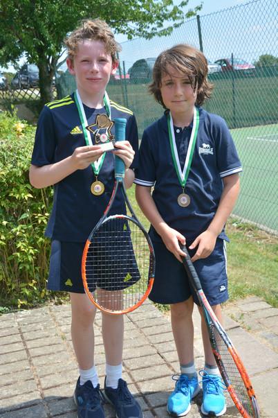 Green Ball winner & runner up