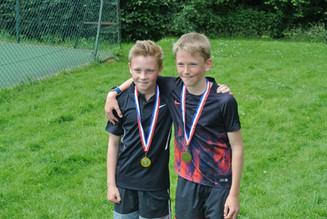 Boys' U12 Winner and Run