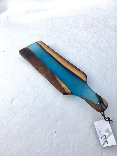 Resin Walnut Charcuterie boards
