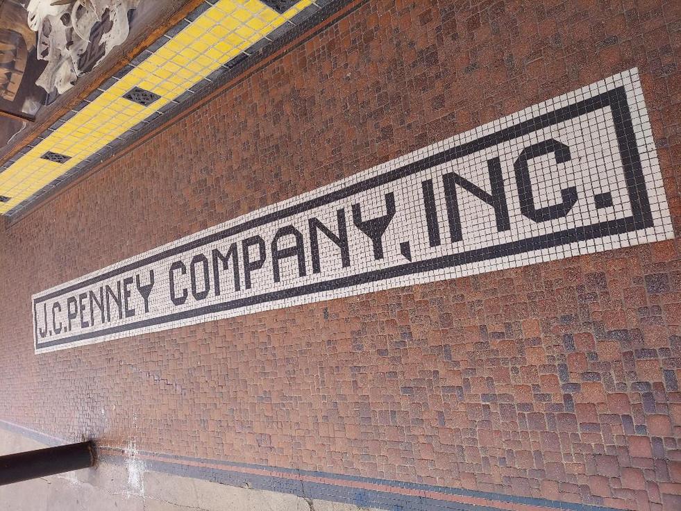 JC Penney Entrance