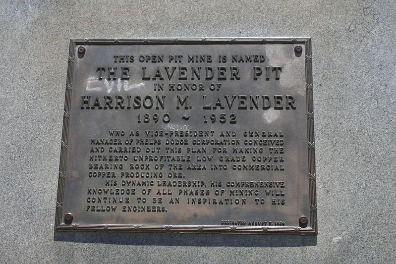 Lavender Pit Plaque