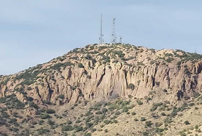 Radio Towers on Juniper Flats