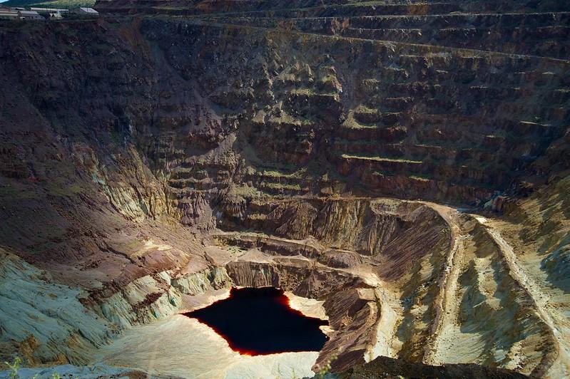 Lavender Pit Copper Water