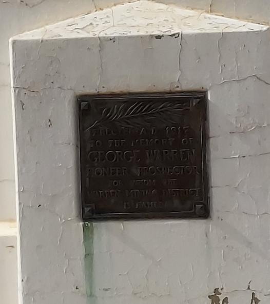 George Warren Headstone