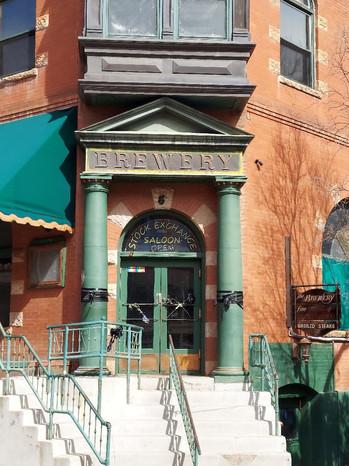 Stock Exchange Front Door