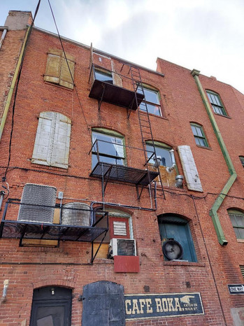 Old Fire Escapes