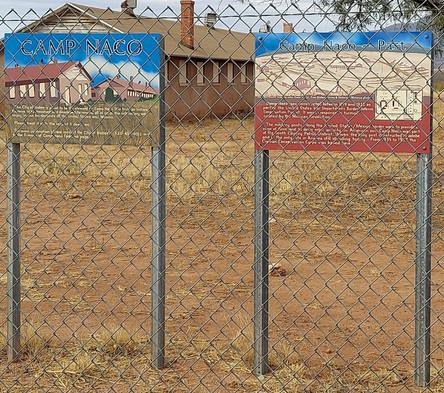 Camp Naco Barracks