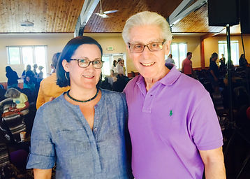Brian Weiss and Babara, Omega Center, NY 2015