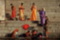 Le Gange, le sacré au quotidien. Photos de Luc Maréchaux