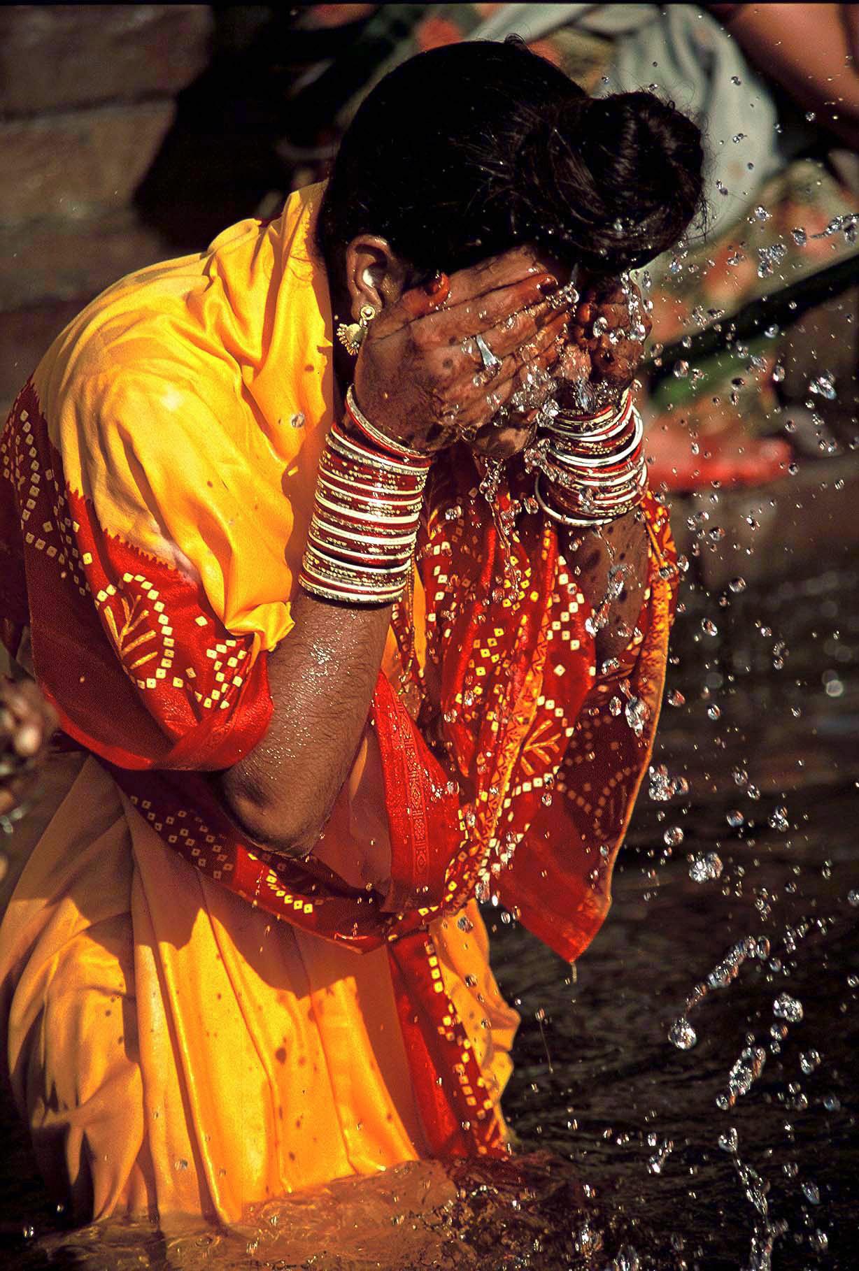 Gange, le sacré au quotidien