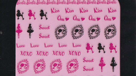 Barbie Nail Seal - S10001
