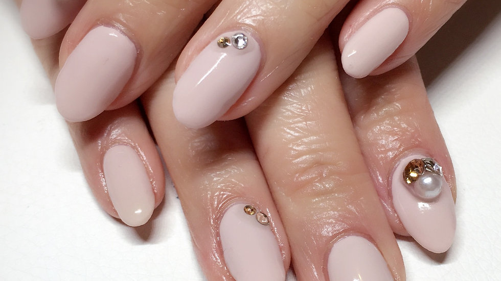 Press on Nail Rhinestone Nail Art