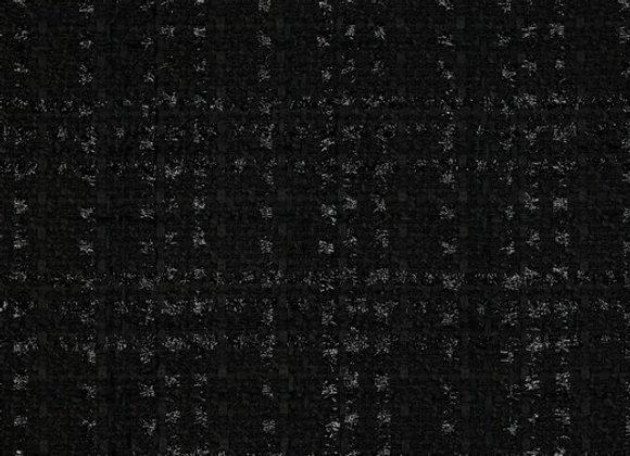 Chenille schwarz Lurex 0,2m