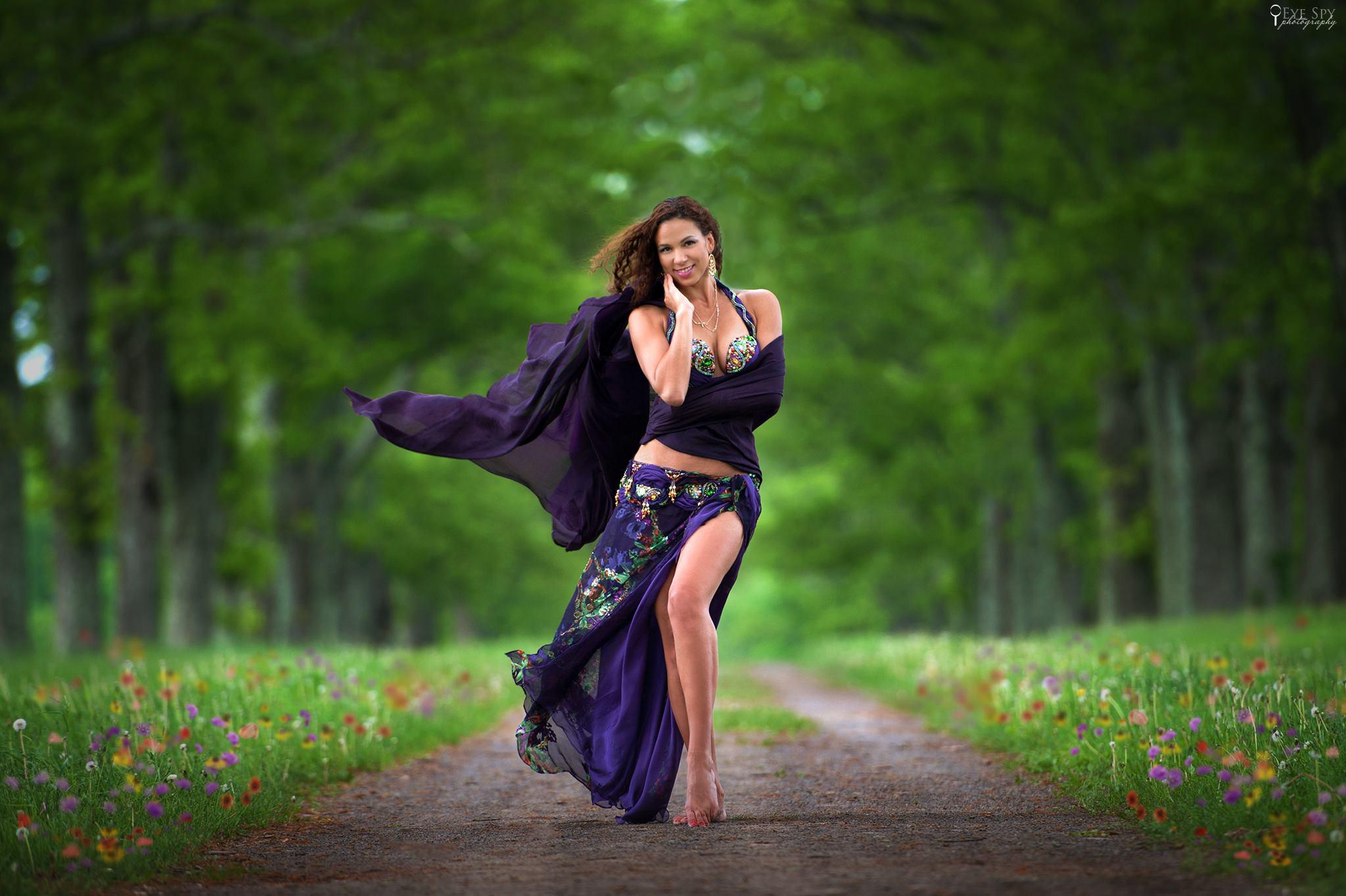 Angie Purple Web