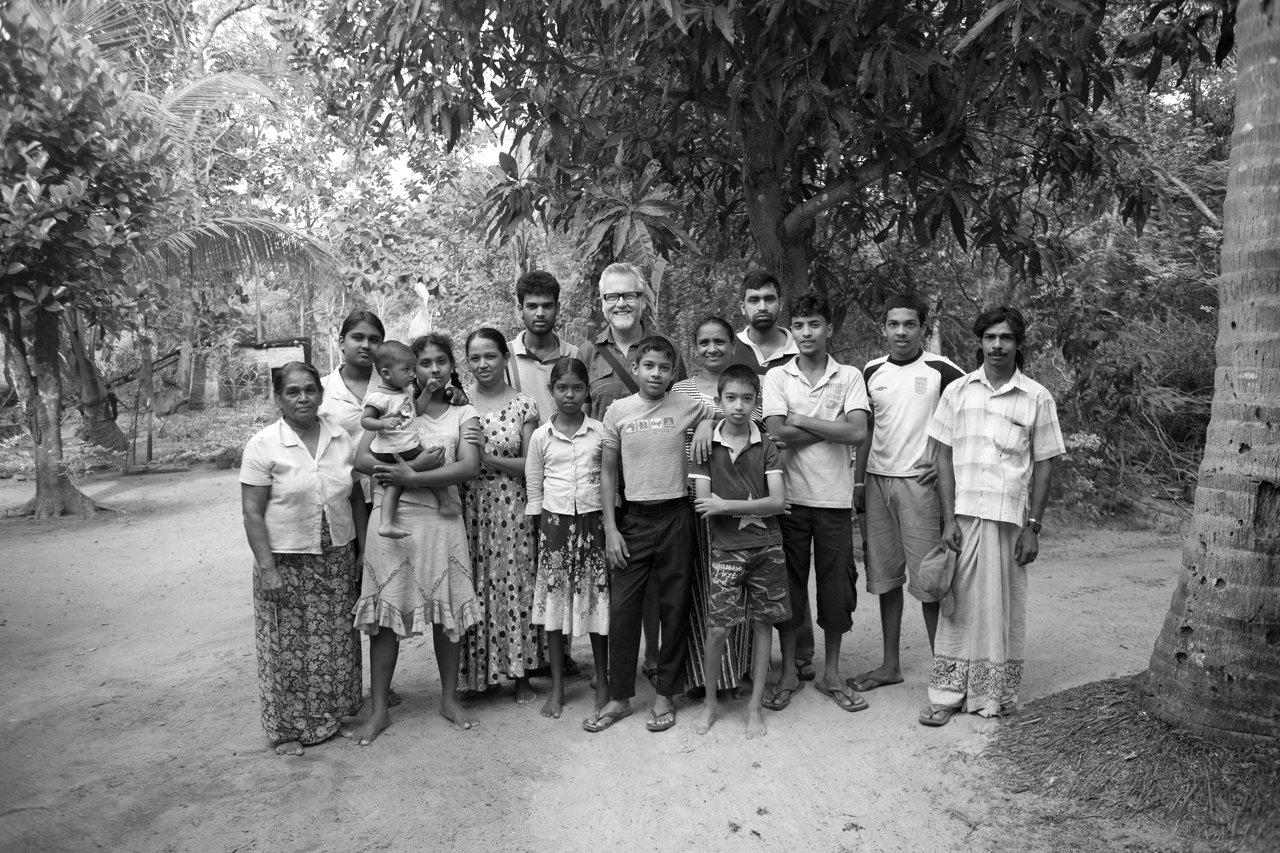 My Sri Lankan Family