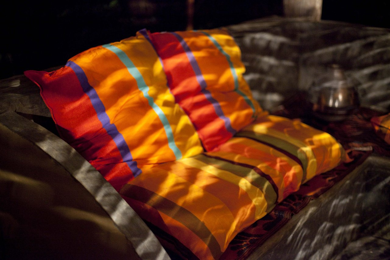 Sansoni fabric from Barefoot