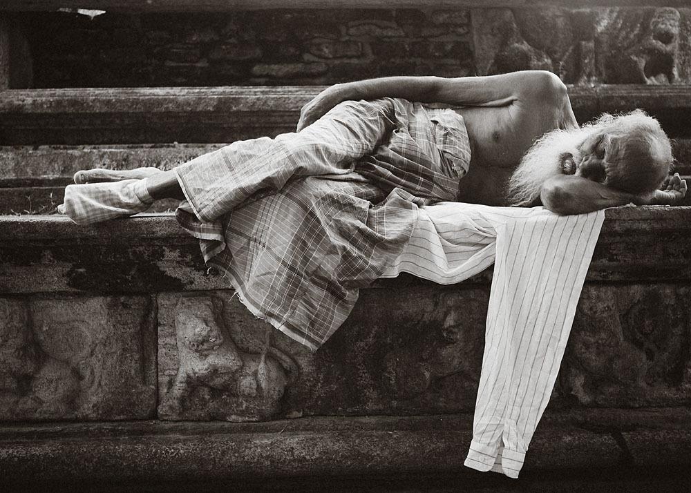Sleeping - Polonnaruwa
