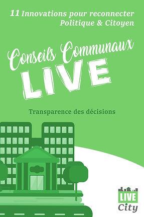 LiveCity - Conseils commuaux Live