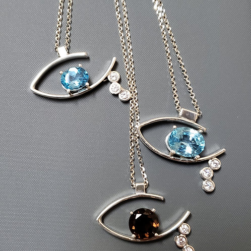 The tears of injustice necklace