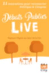 LiveCity - Débats publics Live