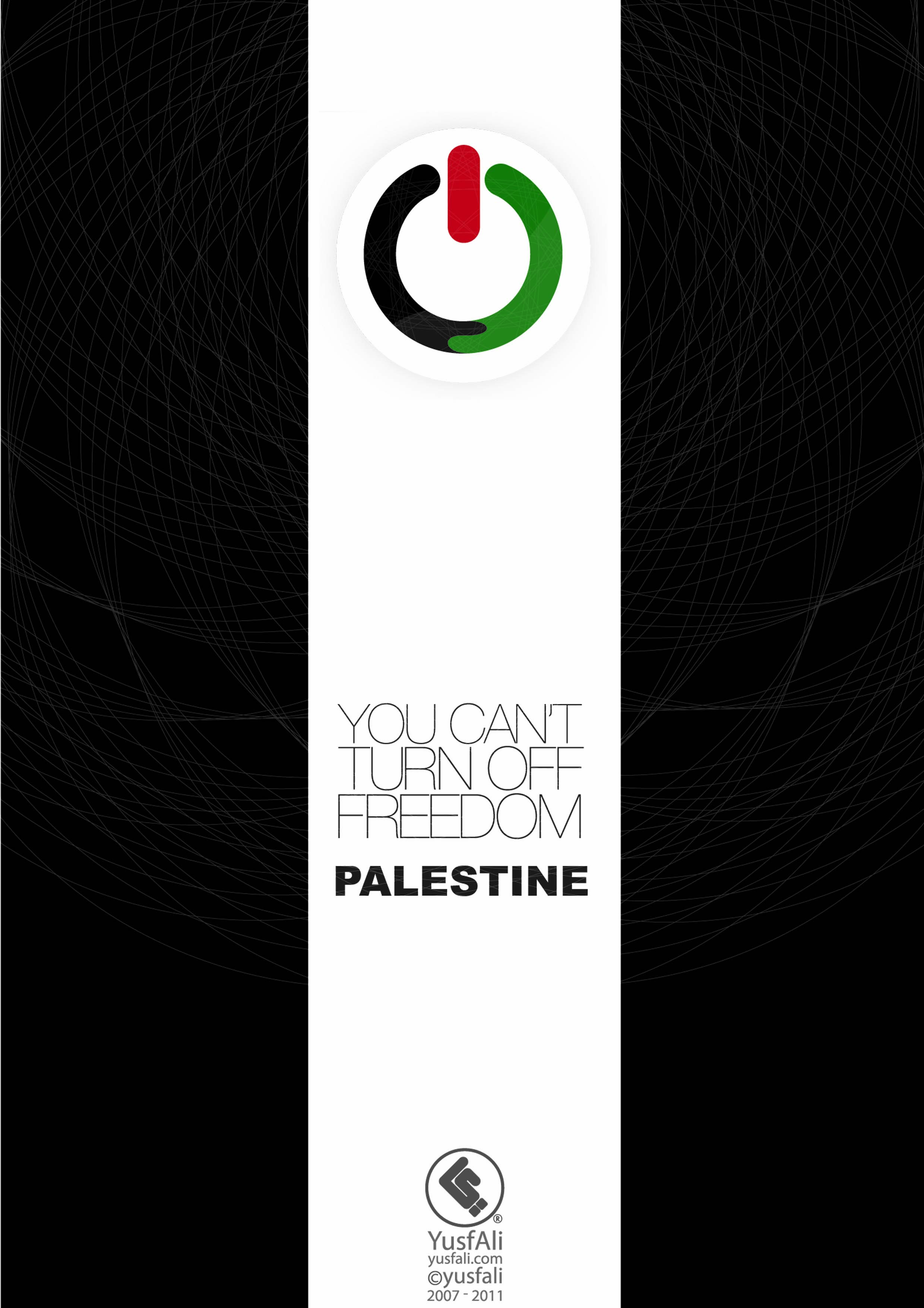 you cant turn off freedom palestine