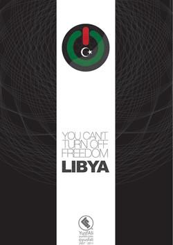 you cant turn off freedom Libya