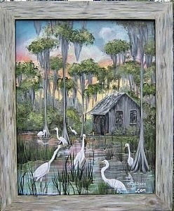 Original Painting by k e Robinson. This