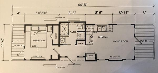 The Bourbon House Floor Plan