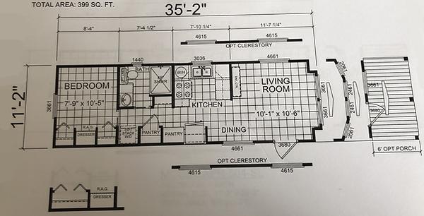 The Zydeco Floor Plan