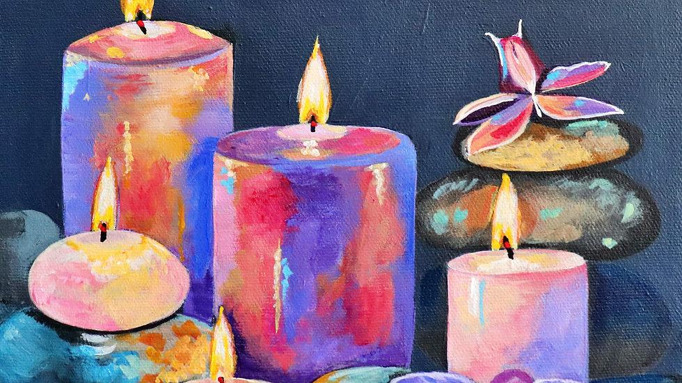 Acrylic Painting - Serenity