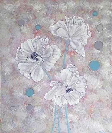 Textured White Poppies.JPG