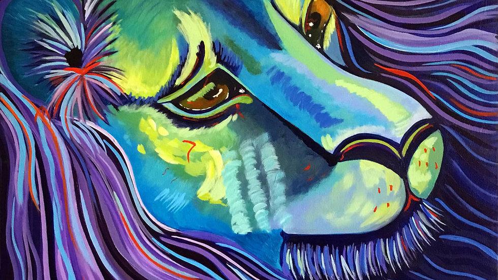 Acrylic Painting - Mystique