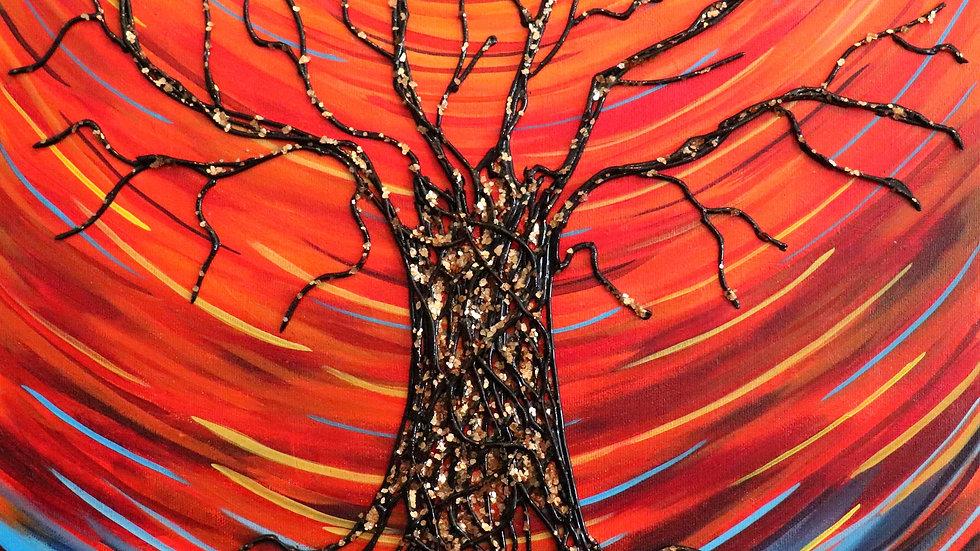 Acrylic Painting - All Seasons