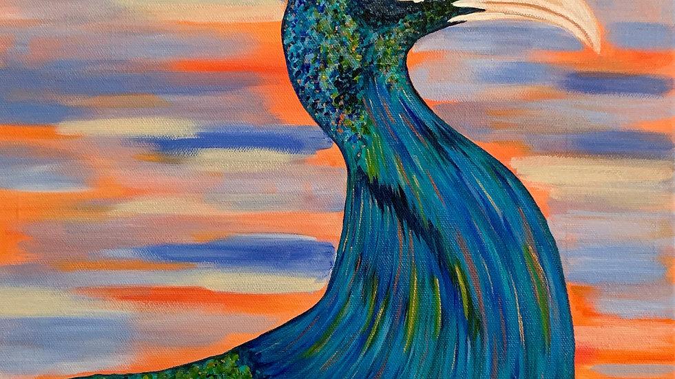 Acrylic Painting - Diva