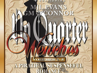 No Quarter: Wenches, The Complete Series comes to audiobook!