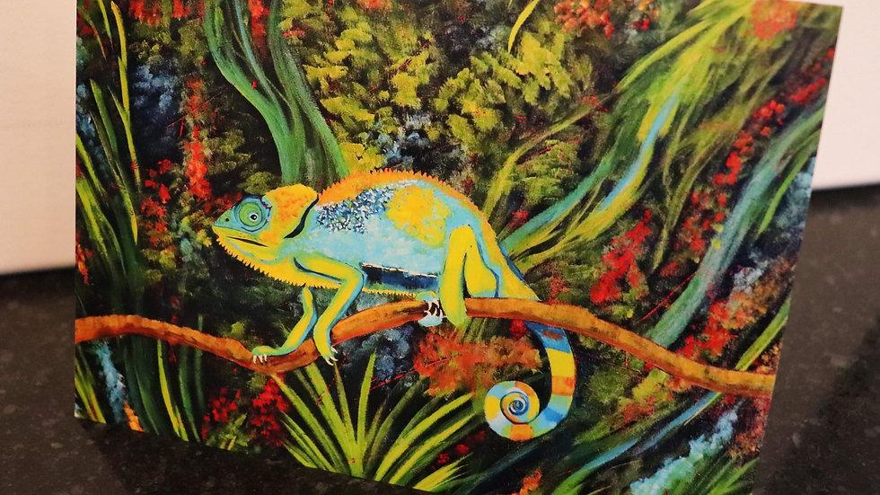 Blank Card - Print of Karma Chameleon