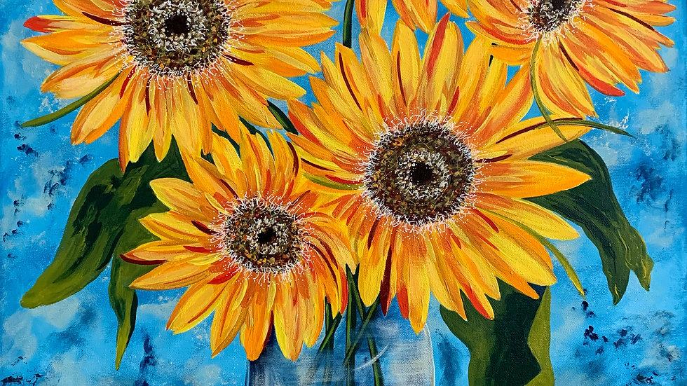 Acrylic Painting - Brighten My Day