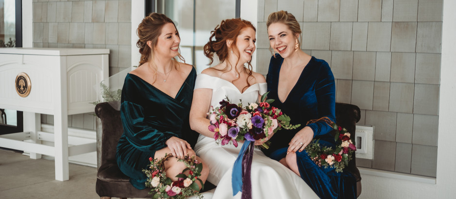 Styled Wedding Shoot: Velvet Gems