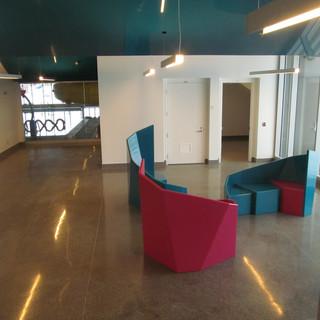 Installation Complexe Aquatique Havre St-Pierre, Hall d'entrée.